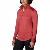 Columbia Women ' S Place To Place 1 / 2 Zip Shirt - Daredevil