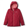 Columbia Girl ' S Youth Casual Slopes Jacket - Pomegranite Heather