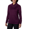 Columbia Women ' S Place To Place Fleece Pullover - Black Cherry