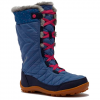 Columbia Youth Minx Mid Iii Wp Omni - Heat Boot - Black Cherry / Wine Berry