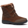 Columbia Women ' S Ice Maiden Shorty Boot - Cordovan / Columbia Grey