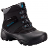 Columbia Youth Rope Tow Iii Waterproof Winter Boot - Black / Dark Compass