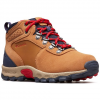 Columbia Youth Newton Ridge Suede Boots - Elk / Mountain Red