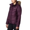 Columbia Women ' S Peak To Park Insulated Jacket ( Extended Sizes ) - Black Cherry