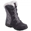 Columbia Women ' S Ice Maiden Ii Winter Boot - Shale / Dark Raspberry