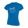 Oneill Girls Youth Skins S / S Tee Rashguard - 218mint