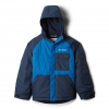 Columbia Boy ' S Youth Casual Slopes Jacket - Super Blue Heather / Collegiate Navy Heather