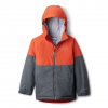 Columbia Youth Boys Alpine Action Ii Jacket - Grill Heather / State Orange
