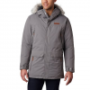 Columbia Men ' S South Canyon Long Down Parka - City Grey