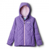 Columbia Girl ' S Youth Casual Slopes Jacket - Grape Gum Heather