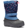 Columbia Youth Preschool Powderbug Ii Winter Boot - Black / Bright Rose