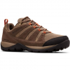 Columbia Men ' S Redmond V2 Waterproof Hiking Shoes - Pebble / Desert Sun