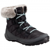Columbia Youth Minx Shorty Omni - Heat Waterproof Winter Boot - Black / Spray