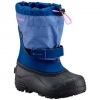 Columbia Youth Powderbug Plus Ii Snow Boot - 010black / Hyprblue