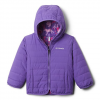 Columbia Youth Toddler Double Trouble Reversible Jacket - Grape Gum / Grape Gum Reindeer