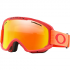 Oakley O Frame 2 . 0 Pro Xm Snowsports Goggle - Red Neon Orange / Fire Iridium