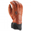 Scott Men ' S Explorair Premium Gtx Glove - Dark Gray / Burnt Orange