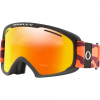 Oakley O Frame 2 . 0 Pro Xl Snowsports Goggle - Neon Orange Camo / Fire Iridium