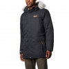 Columbia Men ' S South Canyon Long Down Parka - Black