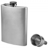 Sona Enterprises 8oz Stainless Steel Hip Flask And Funnel Set