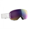 Scott Women ' S Lcg Compact Goggle - White / Enhancer Teal Chrome