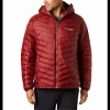 Columbia Men ' S Snow Country Hooded Jacket - Red Jasper