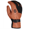 Scott Men ' S Explorair Spring Glove - Dark Gray / Burnt Orange