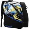 Transpack Edge Junior Print Boot Bag - Glen Plake Blue / Yellow