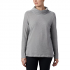 Columbia Women ' S Canyon Point Cowl Neck Shirt - Cirrus Grey