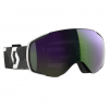Scott Men ' S Vapor Snowsports Goggle - Black White / Enhancer Green Chrome