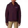 Columbia Women ' S Tipton Peak Insulated Jacket - Black Cherry