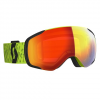 Scott Men ' S Vapor Snowsports Goggle - Yellow / Enhancer Red Chrome