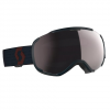 Scott Men ' S Faze Ii Snowsports Goggle - Merlot Red / Enhancer Silver Chrome