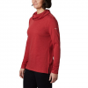Columbia Women ' S Canyon Point Cowl Neck Shirt - Daredevil