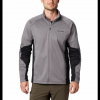 Columbia Men ' S Mount Defiance Wind Fleece Jacket - City Grey