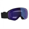 Scott Men ' S Vapor Snowsports Goggle - Black / Illuminator Blue Chrome
