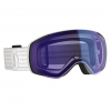 Scott Men ' S Vapor Snowsports Goggle - White / Illuminator Blue Chrome