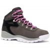 Columbia Women ' S Newton Ridge Plus Waterpoof Amped Hiking Boot - Dark Gray / Crown Jewel