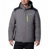 Columbia Men ' S Tipton Peak Insulated Jacket - City Grey
