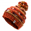 The North Face Nanny Knit Beanie - Red / Brown / Multi