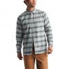 The North Face Men ' S Long Sleeve Thermocore Shirt - Mid Grey Toast