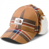 The North Face Men ' S Campshire Earflap Hat - Cedar Brown Gully Plaid