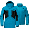 The North Face Men ' S Clement Triclimate Jacket - Brilliant Blue / Tnf Black