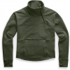 The North Face Women ' S Motivation Fleece Mock Neck Pullover - New Taupe Green