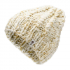 The North Face Women ' S Chunky Knit Beanie - Vintage White / British Khaki Multi