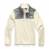 The North Face Youth Girl ' S Glacier 1 / 4 Snap Fleece - Atomic Pink