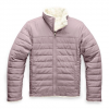 The North Face Youth Girl ' S Reversible Mossbud Swirl Jacket - Ashen Purple
