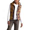 The North Face Women ' S Campshire Vest 2 . 0 - Cedar Brown California Geo Print