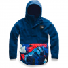 The North Face Women ' S Riit Pullover - Flag Blue / Palms Print