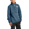 The North Face Youth Boys Gordon Lyons 1 / 4 Zip Fleece - Shady Blue